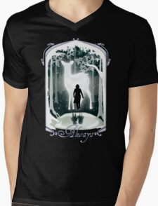 Snape Memories Black Mens V-Neck T-Shirt