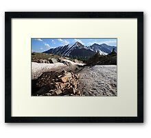 Above Highwood Pass IV Framed Print