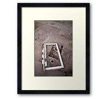 is there life on mars? Framed Print