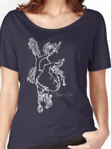 Tigers Jaw Heart Design Women's Relaxed Fit T-Shirt