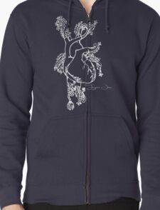 Tigers Jaw Heart Design T-Shirt