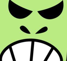 Angry Halloween Frankenstein Sticker