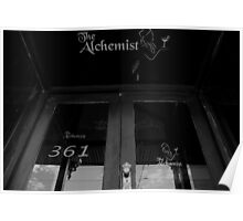 alchemy, space. the alchemist, fitzroy, melbourne. Poster