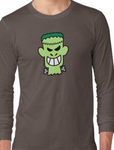 Naughty Halloween Frankenstein Long Sleeve T-Shirt