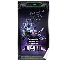 DAHL Military Poster
