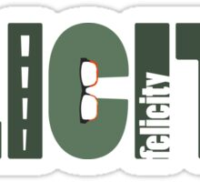 Olicity - Arrow Ship Sticker