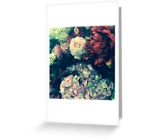 A flora agreement  Greeting Card