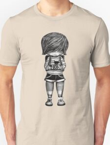 Smile Baby Photographer black and white Unisex T-Shirt