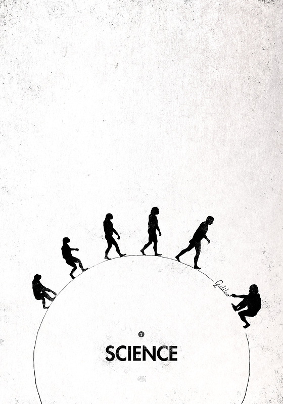 99 steps of progress - Science by maentis