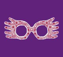 Luna Lovegood Spectrespecs - Magenta by Jessica Morgan