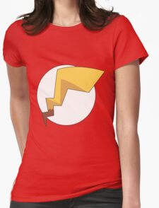 Pika Flash Womens Fitted T-Shirt