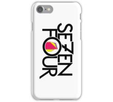 704 iPhone Case/Skin