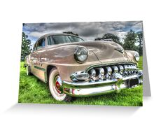 Vintage DeSoto Greeting Card
