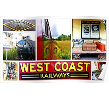 West Coast Railways ~ The Jacobite Experience Poster