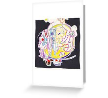 Night Drawings - Les Dessins de Nuit n°57  - Full Moon 3 : The last of the First Serie !!!!!!!!! Greeting Card