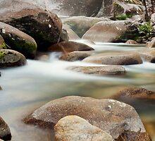Slow Flow - Josephine Falls, far north Queensland by Jenny Dean