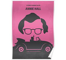 No147 My Annie Hall minimal movie poster Poster