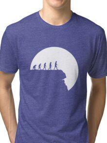 99 steps of progress - Free will Tri-blend T-Shirt