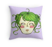 Space Princess Throw Pillow
