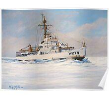 U. S. Coast Guard Icebreaker Eastwind Poster