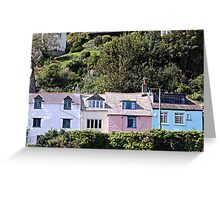 COTTAGES. Greeting Card