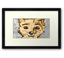 Different Kind of Fox Framed Print