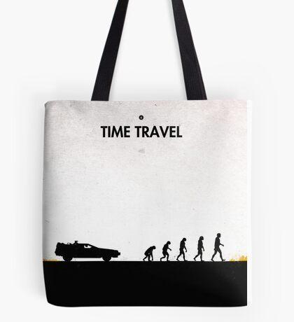 99 steps of progress - Time travel Tote Bag