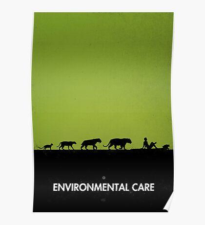 99 steps of progress - Environmental care Poster