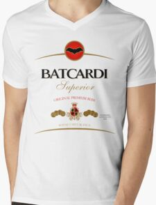 Batcardi Rum Mens V-Neck T-Shirt