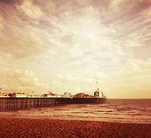 Brighton Pier by iamsla