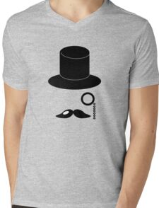 Young Gentlemen Mens V-Neck T-Shirt