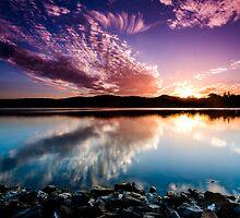 Regatta Reflection by Simon Baker