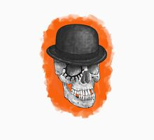 Clockskull orange Unisex T-Shirt