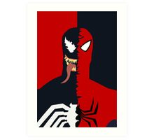 Spider-Man/Venom Art Print