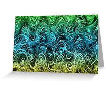 I'm in a bit of a muddle - Abstract 1 Greeting Card