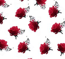 RED ROSES as iPhone Case  by OlaG