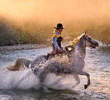 Dawn's Misty Waters by Janet Fikar