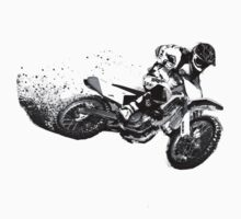 Dirt-bike Corner Roost - Black by JKane613