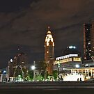 Bicentennial Park at night - Columbus, Ohio by michael6076