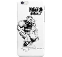 Franken Fuhrer (Black Outline) iPhone Case/Skin