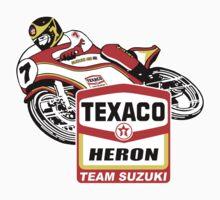 Barry Sheene Texaco Heron Team Suzuki Kids Tee