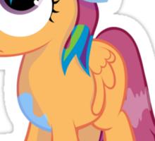 Scootaloo Wanna Be Rainbow Dash  Sticker