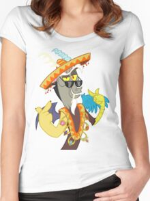 Discord  Women's Fitted Scoop T-Shirt
