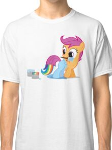 Scootaloo Wanna Be Rainbow Dash Classic T-Shirt