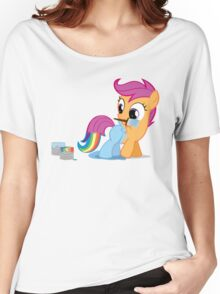 Scootaloo Wanna Be Rainbow Dash Women's Relaxed Fit T-Shirt