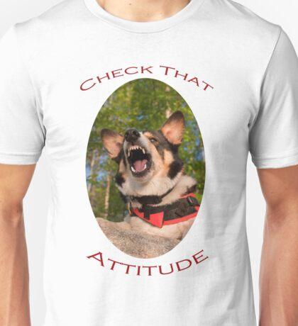 Check That Attitude Unisex T-Shirt