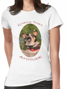 Check That Attitude Womens Fitted T-Shirt
