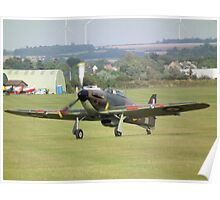 Hawker Hurricane(ZS140) Poster
