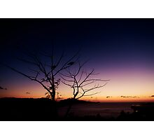 Pair on One Tree Hill Photographic Print