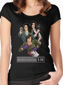 Warehouse 13 girls Women's Fitted Scoop T-Shirt